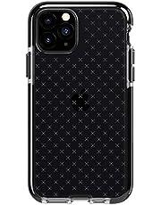Tech21 Skyddande Apple iPhone 11 skal tunt mönster bakskydd med flexShock, Bakskydd, iPhone 11 Pro, Smokey/Black