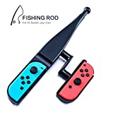 Fishing Rod for Nintendo Switch, Fishing Game Accessories Compatible with Nintendo Switch Legendary Fishing - Nintendo Switch Standard Edition and Bass Pro Shops: The Strike Championship Edition