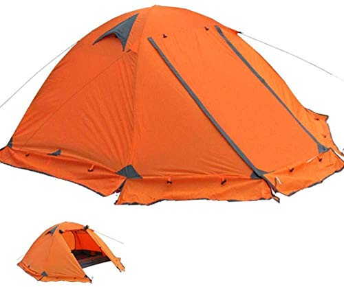 SAIYI 2 Person Outdoor Family Camping Tent Waterproof, Easy Assembly, Durable Fabric Full Coverage 180 * 210 * 135cm Automatic Camping Tent