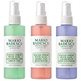 Mario Badescu Spritz Mist and Glow Facial Spray Collection 3 piezas - Lavender, Cucumber, Rosa