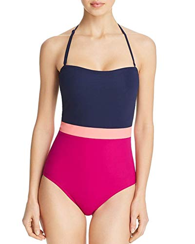 Flagpole Women's Rita Bandeau One Piece Swimsuit, Medium