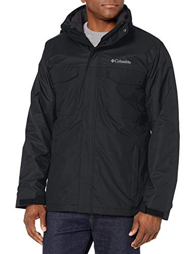 Columbia Men's Timberline Triple Interchange Jacket, Black, Medium