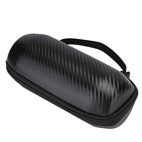Jinyi Bolsa de Altavoz, Bolsa de protección de Altavoz Bluetooth, EVA portátil Negro antichoque y Resistente para el Coche de Viaje con Altavoz Bluetooth doméstico