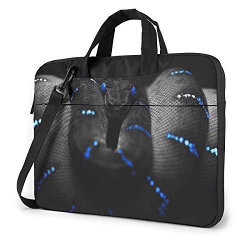 3D Snake Wallpaper Unisex Laptop Tasche Messenger Umhängetasche für Computer Aktentasche Tragehülle