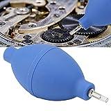 yuyte Bomba de Soplador de Polvo, Accesorio de Reloj de Goma Limpieza de Piezas de Reloj de Pulsera Herramienta de Limpieza Accesorio de Reloj de Bomba de Soplador de Aire de Polvo