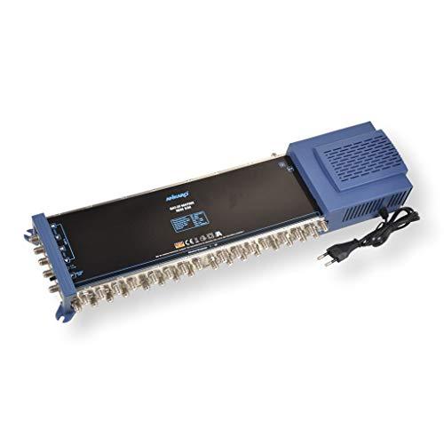 ANKARO Multischalter SEM 5/32 für den Empfang Einer Satellitenposition an bis zu 32 Teilnehmer / 4K, 3D, UHD tauglich/Quattro und Quad LNC geeignet