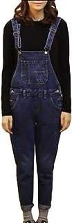 maweisong レディースストレッチは、デニムのジャンプスーツを緩んだオーバーオールオーバーライド