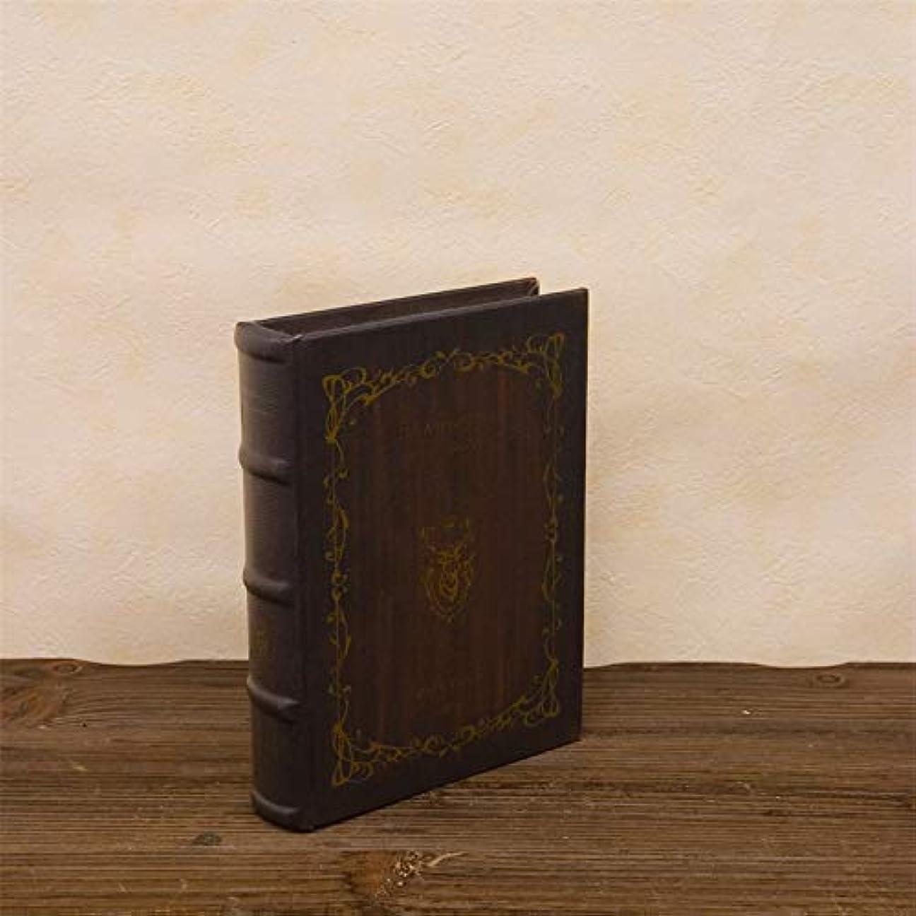 下る制裁予測シークレットボックス アンティーク風 洋書型 小物入れ 「THE Adventures of Tom Sawyer」 Sサイズ