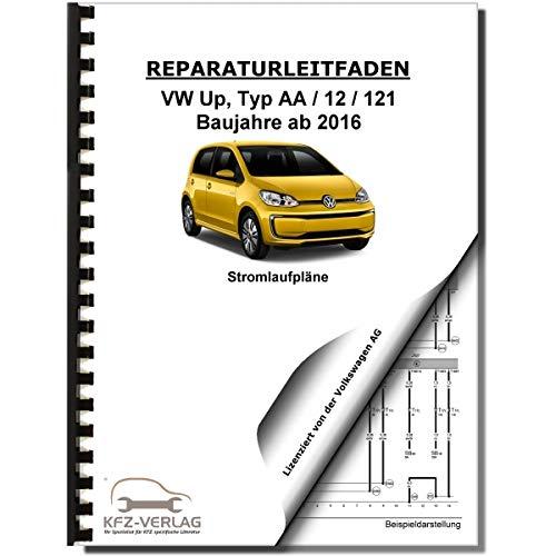 VW Up! Typ AA ab 2016 Schaltplan Stromlaufplan Verkabelung Elektrik Pläne