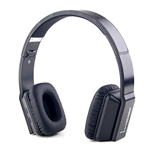 Bluetooth Headsets, Forestfish Wireless Foldable On-Ear Bluetooth Headphones Noise Canceling Headset with Microphone for Android iOS Phones
