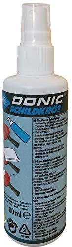 Donic-Schildkröt Unisex– Erwachsene Tischtennis-Belag-Sprayreiniger Reiniger, Mehrfarbig, One Size