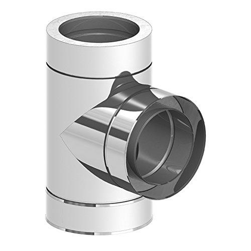 Ø 150 mm Schornstein - Anschluss T-Stück 90°