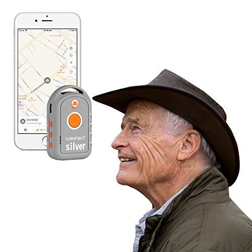 Weenect Silver - GPS-Tracker für Senioren