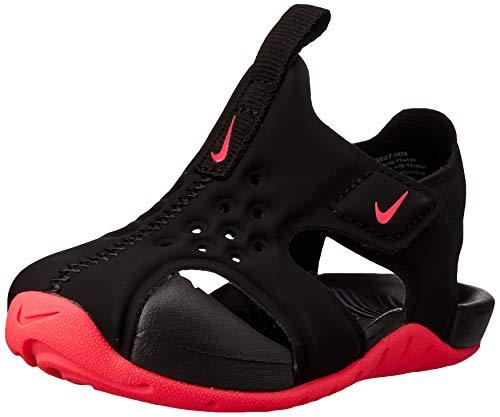Nike Jungen Sunray Protect 2 (Td) Dusch-& Badeschuhe, Mehrfarbig (Black/Racer Pink 003), 27 EU