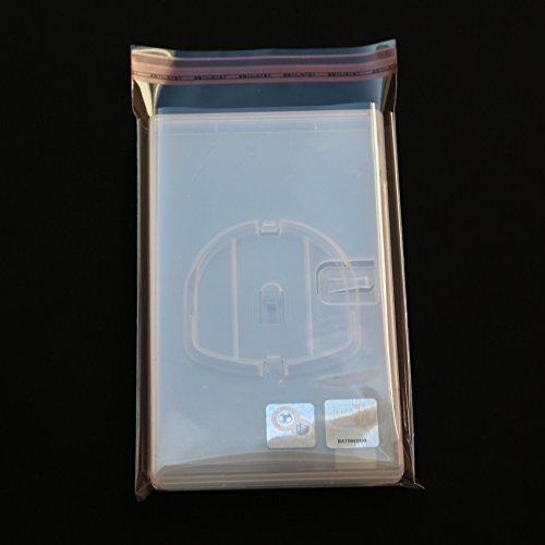 200 St. PlayStation Portable Schutzhüllen glasklar PSP Games mit Klappe und Verschluss