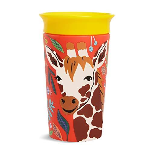 Munchkin 051835 Miracle 360° Tasse Wildlove, 266ml, Girafe, Lot de 1