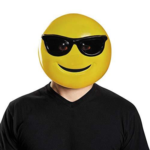 Disguise Sunglasses Emoji Mask