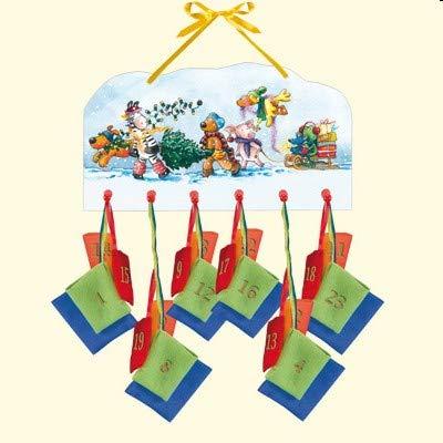Spiegelburg 8981 - Die Lieben Sieben Holz-Adventskalender