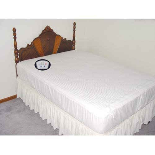 Electrowarmth Queen, Two Controls, Heated Mattress Pad by, Size 60 X 80, Model No M60FLD
