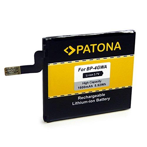 PATONA Batteria BP-4GWA 1600mAh Compatibile con Nokia Lumia 625 720