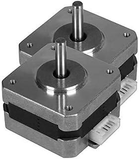 Unique India Sales 2 Pcs Nema 17 2.5 Kg-cm Bipolar Stepper Motor 10mm shaft For CNC Robotics DIY Projects 3D Printer Item ...