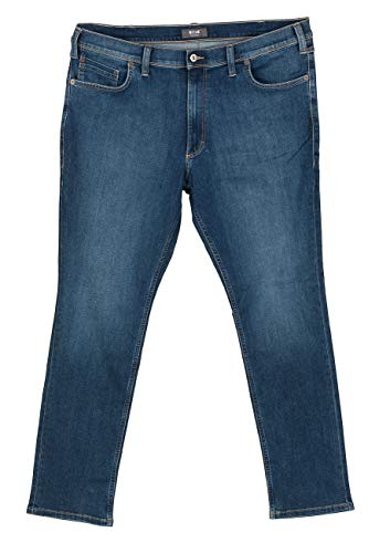 MUSTANG Herren Jeans Washington - Slim Fit - Blau - Denim Blue, Größe:W 32 L 34, Farbe:Denim Blue (881)