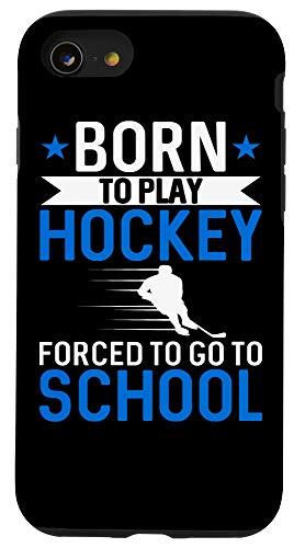 iPhone SE (2020) / 7 / 8 Ice Hockey Gift for Boys Born To Play Hockey Phone Case
