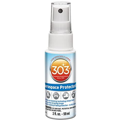 303 (30302) UV Protectant Spray for Vinyl, Plastic, Rubber, Fiberglass, Leather & More – Dust and Dirt Repellant - Non-Toxic, Matte Finish, 2 Fl. oz.