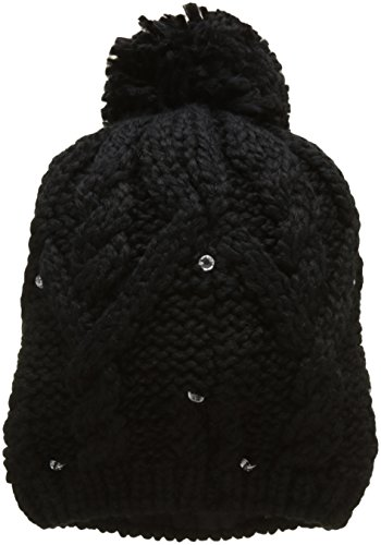 Roxy Damen Shooting Star - Beanie for Women, Anthracite - Solid, One Size