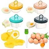 escalfar huevos microondas escalfador de huevos en agua huevos escalfados molde cocidos cocinador de huevos cocedor huevos duros poche escalfados recipiente cocer huevos egg cooker poacher boiled eggs