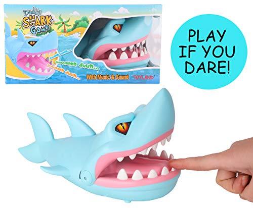 Toyland® Muzikaal Papa-Haaienspel - Laat de Haai Niet Bijten - Familie Spannende Spellen