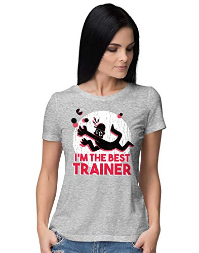 BLAK TEE Damen Best Trainer T-Shirt M