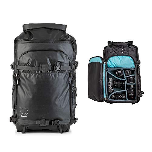 Shimoda Action X30 Water Resistant Camera Backpack Starter Kit - Fits DSLR, Mirrorless Cameras, Batteries & Lenses - Medium Mirrorless Core Unit Modular Camera Insert Included - Black