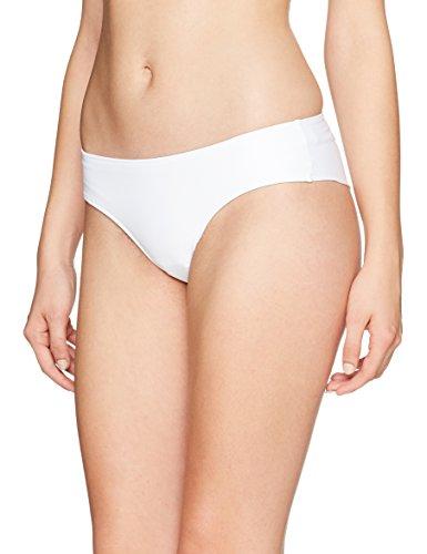Calvin Klein Damen Hipster Brazilian Bikinihose, Weiß (Pvh White 100), 36 (Herstellergröße: S)