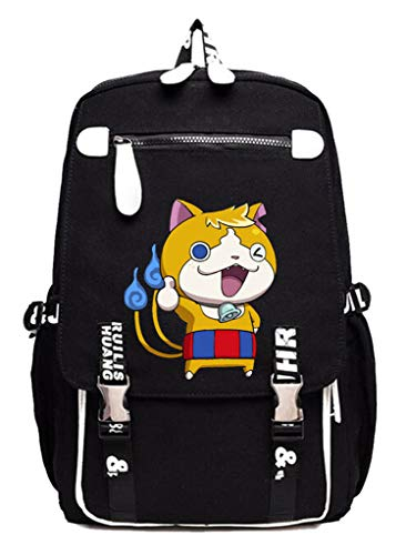 WANHONGYUE YO-Kai Watch PuniPuni Juego Mochila Escolar Estudiantes Mochila para Portátil Backpack Bolsa Casual -5