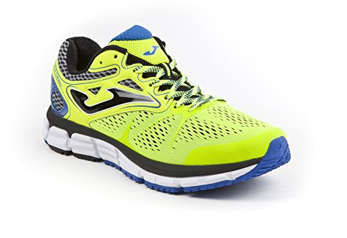 Joma Super Cross, Zapatillas de Running para Hombre, Amarillo (Fluor), 44 EU
