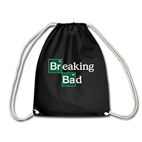 Spreadshirt Breaking Bad Logo Brom & Barium Turnbeutel, Schwarz