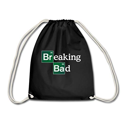 Spreadshirt Breaking Bad Logo Brom & Barium Turnbeutel, Schwarz