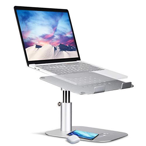 "Adjustable Laptop Stand, NASUM Ergonomic Multi-Angle Laptop Holder, Aluminum Multi-Angle Computer Stand, Adjustable Height from 5.9""to 8.6"", Laptop Stand for Mac and All Laptops Tablets 10""-17""…"