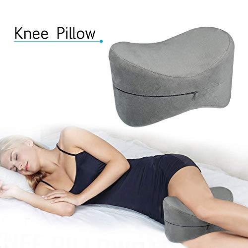 Orthopedisch Kniekussen, Memory Foam Legs Positioner Pillow, voor Relief Sciatica, rugpijn, pijn in de benen, heup en gewrichtspijn, zwangerschap en zijslaper