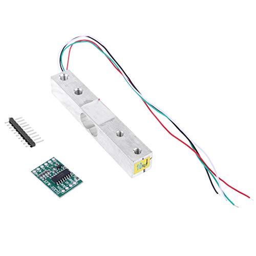 JunYe weegschaal 10 kg gewichtssensor elektronische keukenweegschaal + HX711 AD weegmodule voor Arduino