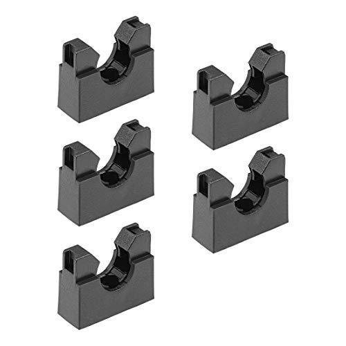 Soporte de tubo corrugado AD13 Soporte de montaje de plástico Clips de abrazadera de tubo 5 piezas