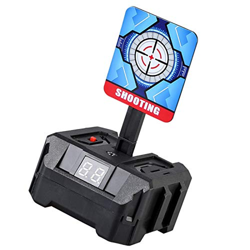 Blanco de tiro electrónico 3 objetivos Juguete para niños Restablecimiento automático Luz inteligente Efecto de sonido Objetivo de puntuación Regalos de tiro Gadgets Juegos de interior al aire libre p