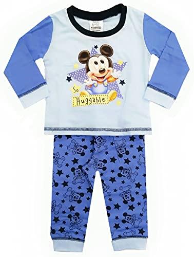 Disney - Pigiama da bambino, motivo: Topolino Topolino. 12-18 Mesi