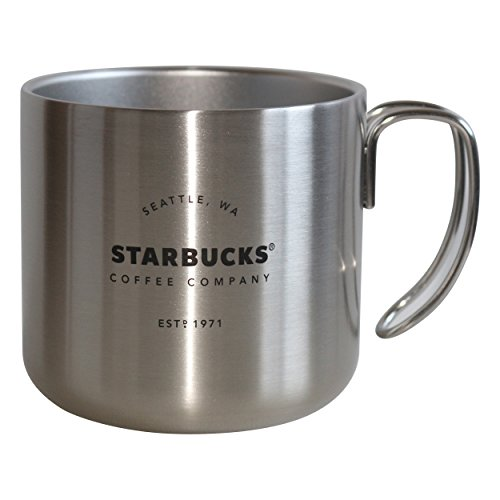 Starbucks Royal Silver White Est. 1971 Mug Becher 12oz/355ml