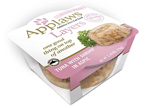 Applaws Grain Free Layers Tuna with Shrimp in Aspic