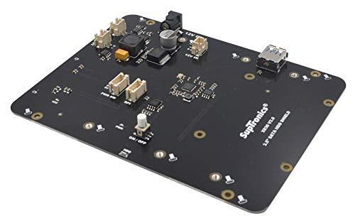 "Preisvergleich Produktbild DollaTek X830 V2.0 3.5""SATA HDD Shield für Raspberry Pi 1 Modell B + / 2 Modell B / 3 Modell B / 3 Modell B"