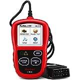 OBD2故障診断機 Autel AL319 日本語サポート コードリーダー DTC定義/コードを消去 スキャンツール 車用故障診断機 obd2 スキャナー CAN対応