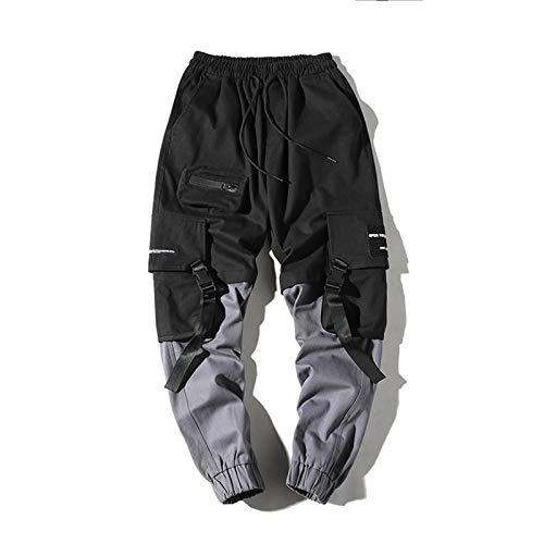Hombres Mangueras de carga Pantalones deportivos Pantalones de calle Pantalones deportivos Pantalones casuales Pantalones al aire libre Pantalones de entrenamiento Pantalones de sarga Multi-bolsillo