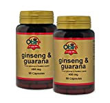 Ginseng + guarana 400 mg. 90 capsule ( Pack 2 pezzi)